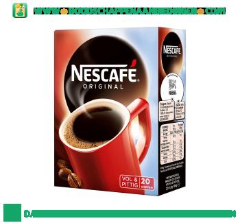 Nescafé Original instant aanbieding