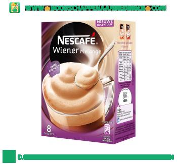Nescafé Wiener melange aanbieding
