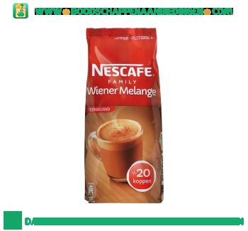 Nescafé Wiener melange family aanbieding