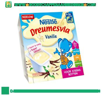 Nestlé Dreumesvla vanille aanbieding
