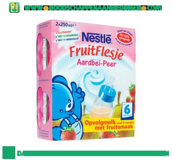 Nestlé Fruitflesje aardbei-peer aanbieding