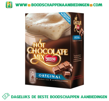 Nestlé Hot chocolate mix aanbieding