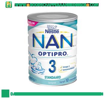 Nestlé NAN optipro standaard 3 aanbieding