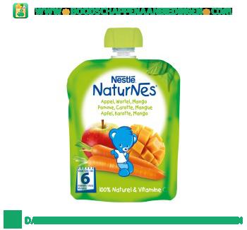 Nestlé Naturnes appel wortel mango aanbieding