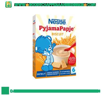 Nestlé Pyjamapapje ontbijt biscuit vanaf 6 mnd aanbieding