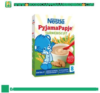 Nestlé Pyjamapapje ontbijt tarwebiscuit vanaf 8 mnd aanbieding