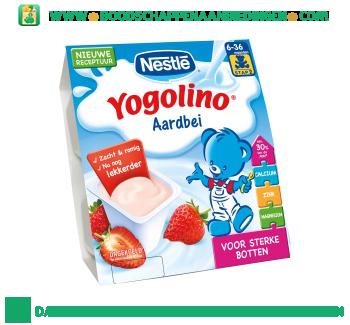 Nestlé Yogolino aardbei aanbieding