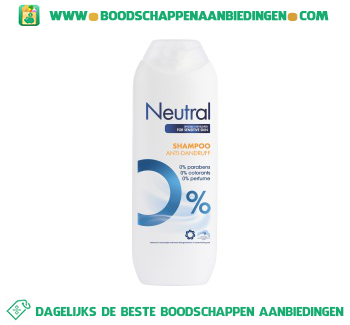 Neutral Anti-Roos Shampoo Parfumvrij aanbieding
