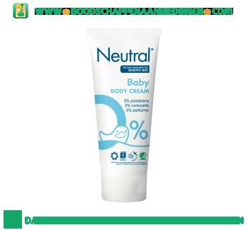 Neutral Baby crème parfumvrij aanbieding