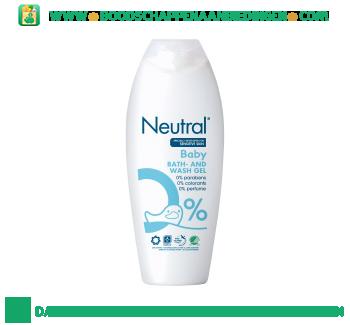 Neutral Baby wasgel parfumvrij aanbieding