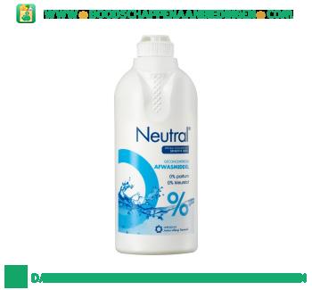 Neutral Neutral Afwasmiddel Parfumvrij aanbieding