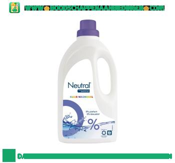 Neutral Wasmiddel vloeibaar kleur parfumvrij aanbieding