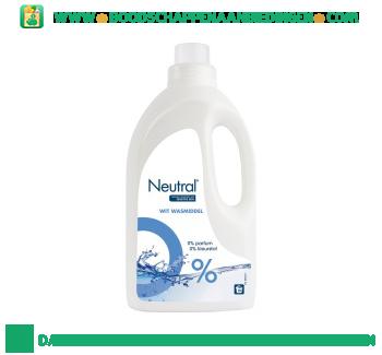 Neutral Wasmiddel vloeibaar wit parfumvrij aanbieding