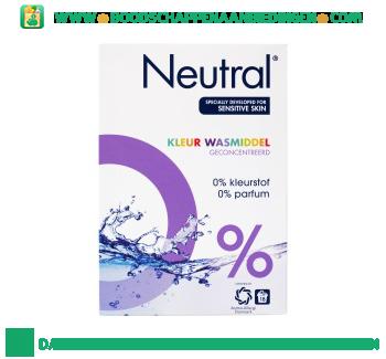 Neutral Waspoeder Kleur Parfumvrij aanbieding