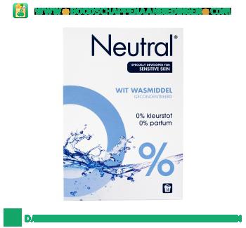 Neutral Waspoeder Wit Parfumvrij aanbieding