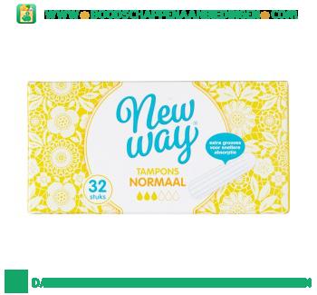 New Way Tampons normaal aanbieding