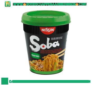 Nissin Soba cup teriyaki aanbieding