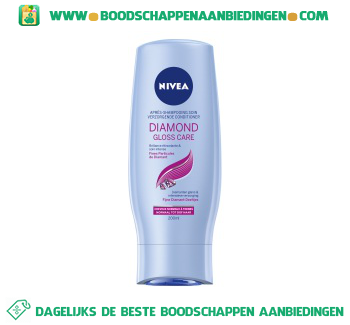Nivea Conditioner diamond gloss aanbieding