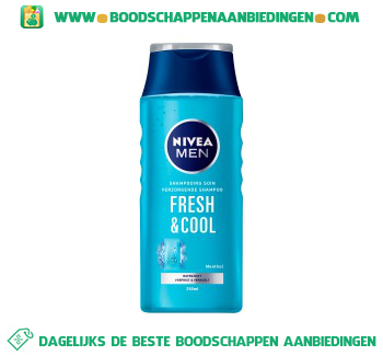 Nivea Men Shampoo fresh & cool for men aanbieding
