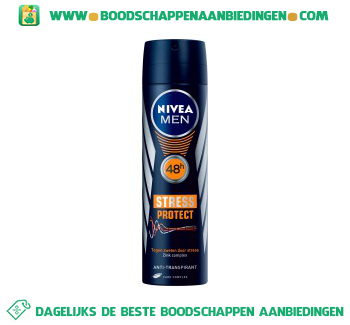 Nivea Men stress protect aanbieding