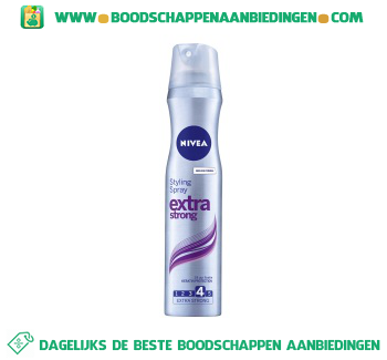Styling spray extra strong aanbieding
