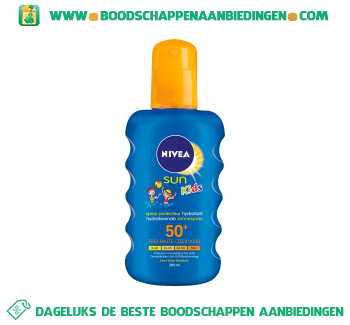 Nivea Sun children spray spf 50+ aanbieding
