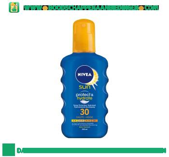 Nivea Sun spray bf30 aanbieding