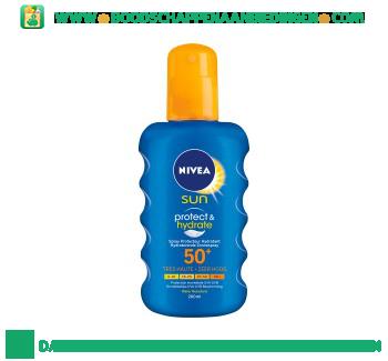 Nivea Sun spray spf 50+ aanbieding