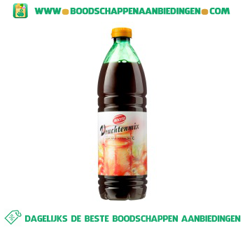 Siroop vruchtenmix aanbieding