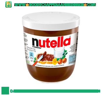 Nutella Hazelnootpasta aanbieding