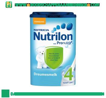 Nutrilon Dreumes groeimelk 4 aanbieding