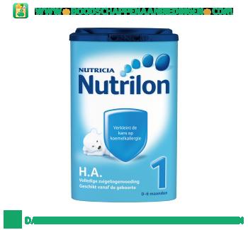 Nutrilon Hypo-allergeen 1 aanbieding