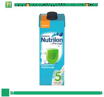 Nutrilon Peuter groeimelk 5 aanbieding