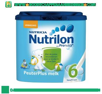 Nutrilon Peuter plus groeimelk 6 aanbieding