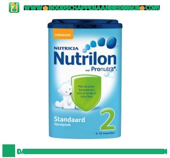 Nutrilon Standaard 2 opvolgmelk aanbieding