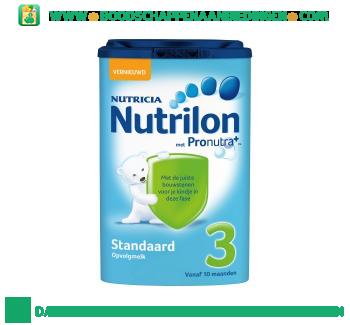 Nutrilon Standaard 3 opvolgmelk aanbieding