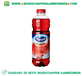 Ocean Spray Cranberry classic aanbieding