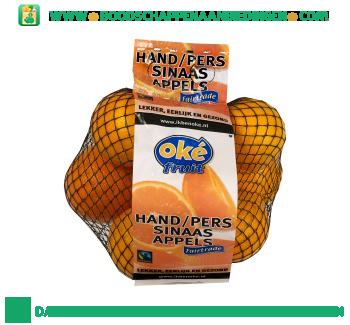 Oké Hand/perssinaasappels aanbieding