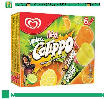 IJs calippo minis orange-lemon aanbieding