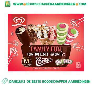 IJs family fun mix aanbieding