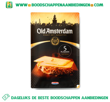 Old Amsterdam 5 kaasplakken aanbieding
