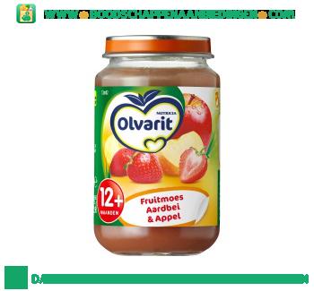 Olvarit 12m02 fruitmoesje aardbei & appel aanbieding