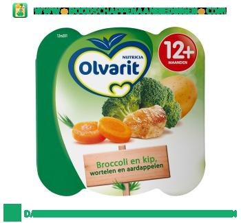 Olvarit Peutermenu kip wortel broccoli aanbieding