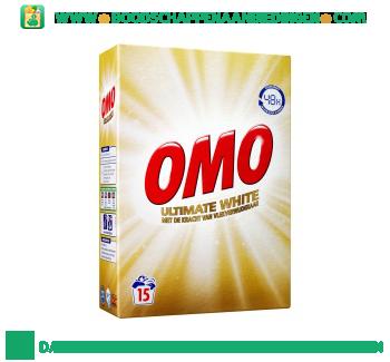 Omo Wasmiddel Ultimate Wit aanbieding