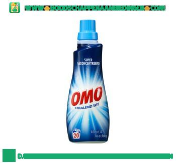 Omo Wasmiddel vloeibaar klein & krachtig wit aanbieding