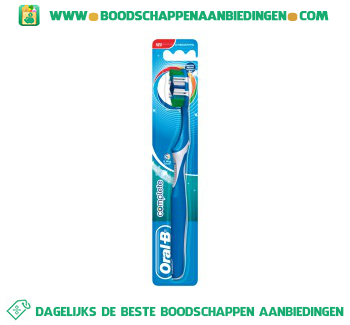 Oral-B Complete 5 way clean tandenborstel medium aanbieding