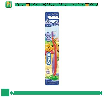 Oral-B Stages 2 tandenborstel voor kinderen 2-4 jaar aanbieding