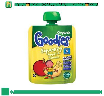 Organix Goodies appel banaan aanbieding