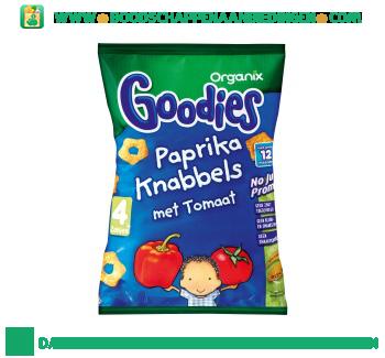 Organix Goodies paprika knabbels aanbieding