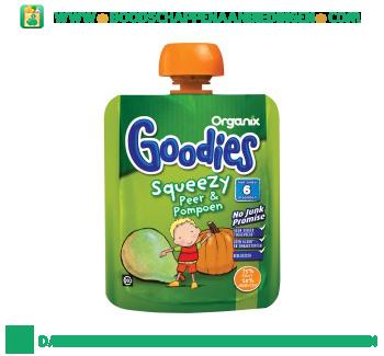 Organix Goodies peer pompoen aanbieding